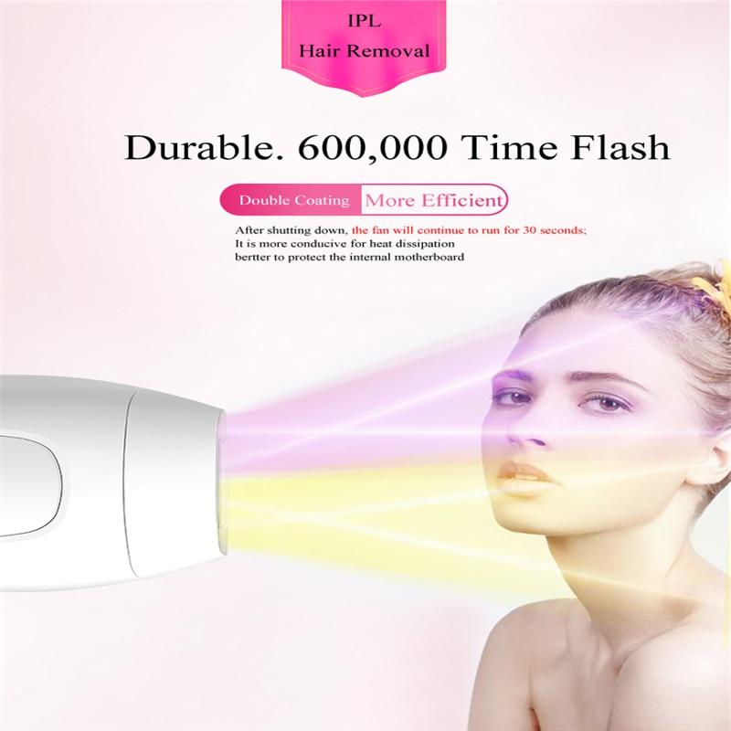 Remoção do cabelo depilador ipl flash permanente