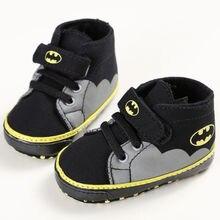 Парусиновая обувь pudcoco для маленьких мальчиков и девочек; сезон осень-зима; кроссовки для малышей; детская кроватка; обувь для малышей с принтом