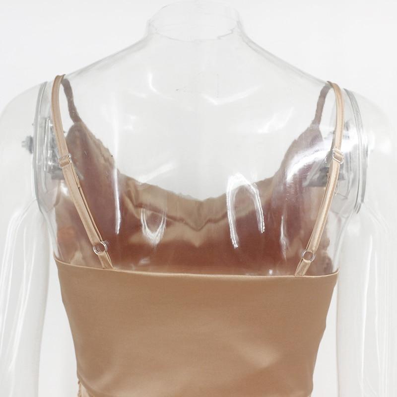 Ruched Bandage Mini Dress