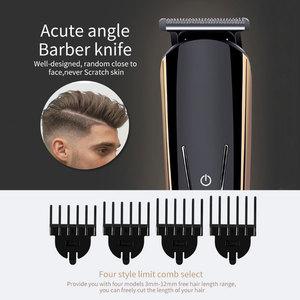 Image 3 - 8 In 1 Mannen Precisie Trimmer Tondeuse Scheerapparaat Body Groomer Baard Stoppels Trimeer Gezicht Scheren Machine Head trimmen 40D