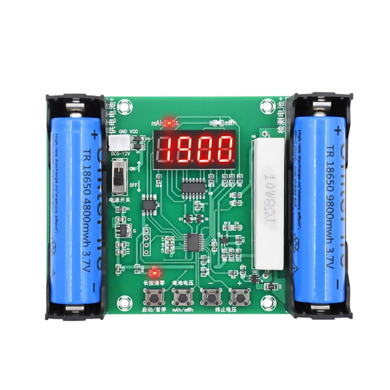 Ambitious Xh-m240 18650 Lithium Battery 3.7v Capacity Tester Mah Mwh Digital Discharge Electronic Load Battery Monitor To Help Digest Greasy Food
