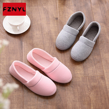 FZNYL Winter Unisex Home Slippers For Couple Warm Plush Shoes Women Casual Soft Floor Boots Men Indoor Cotton Shoes Non-slip цена 2017