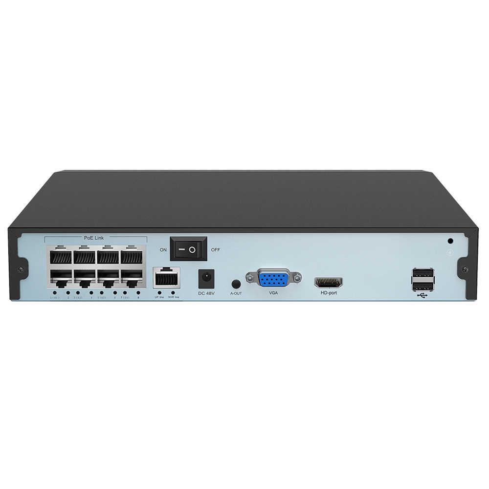 USAFEQLO 4CH 8CH 1080P 48 فولت POE NVR XMEYE 802.3af P2P ONVIF شبكة مسجل فيديو كامل HD 5.0MP ل POE IP كاميرا CCTV الأمن