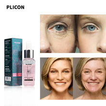PLICON 3D Rose Anti Aging Face Facial Serum Hyaluronic Acid Skin Care Whitening Eliminate Wrinkles Moisturizing Face Serum 20ml