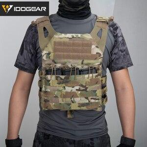 Image 3 - IDOGEAR JPC gilet tactique Airsoft, armure de corps cavalier, transporteur plaque, Paintball, militaire, Nylon 500D, Durable