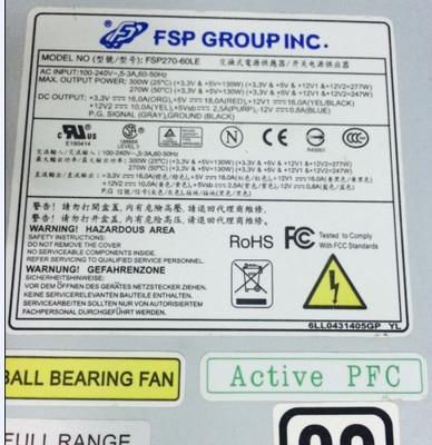 FSP270-60LE 270 Вт Гибкий-ATX 1U блок питания, гибкий HTPC NAS
