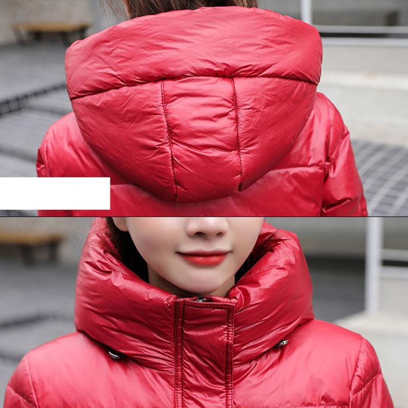 2020 Hot Coat Jacket Winter Women Hooded Parkas Hight Quality Female Winter White Duck Down Female
