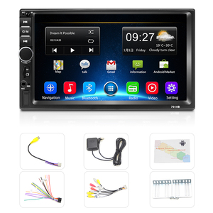 Image 5 - Podofo 2din Auto Radio Android GPS Navi Wifi Auto Multimedia Player Universal auto Stereo Für Volkswagen Nissan Hyundai Kia toyota