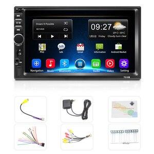 Image 5 - Podofo 2din autoradio Android GPS Navi Wifi Car Multimedia Player Universal auto Stereo per Volkswagen Nissan Hyundai Kia toyota