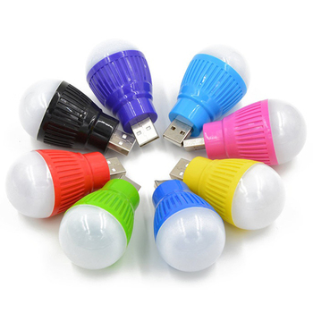 Car Decoration Lights PVC 5V 5W USB Bulb Light Portable Lamp LED 5730 For Automobile Interior Decoration Night Light Colorful image