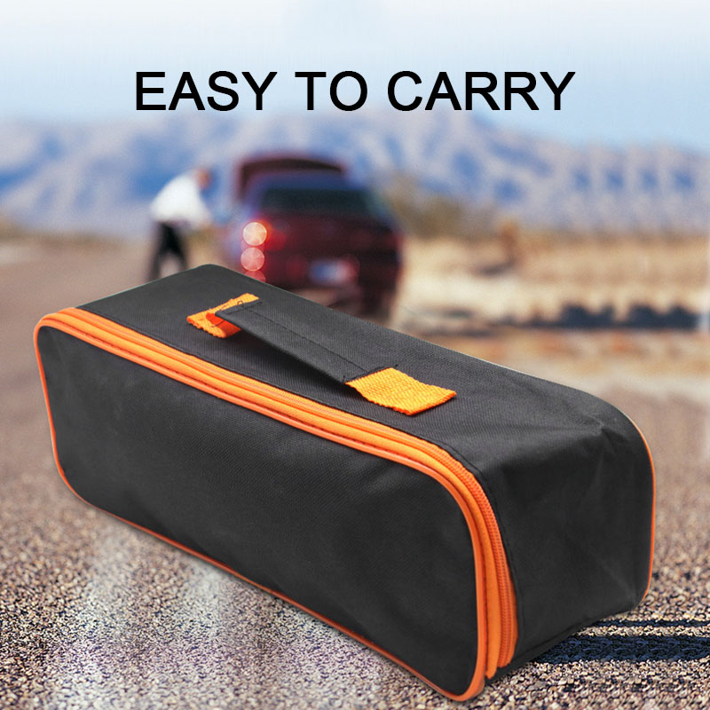 High 2 Pcs Tool Bag Storage Handbag Portable Multi-function Vehicle Tool Storage Bag DOG88