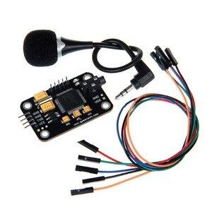 Image 2 - שליטה עמיד זיהוי קול מודול אוניברסלי מגשר חוט שחור דיבור עם מיקרופון כלים גבוהה רגישות לrduino