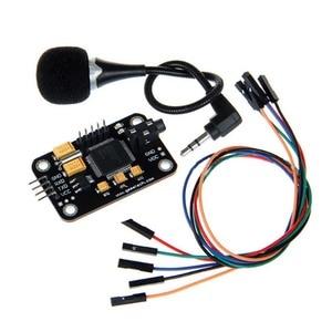 Image 2 - Controle Duurzaam Spraakherkenning Module Universele Jumper Draad Black Speech Met Microfoon Gereedschap Hoge Gevoeligheid Voor Een Rduino