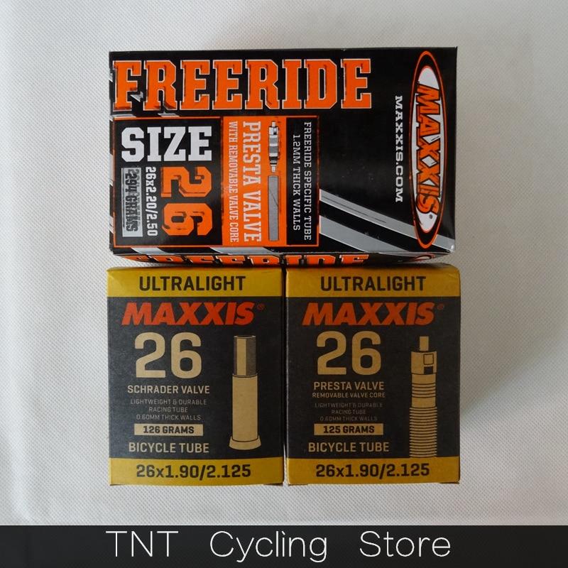 Сверхлегкая внутренняя трубка для горного велосипеда, 26er все размеры AV FV, 26*1,0/1,25/1,5/1,75/1,9/2,125/2,2 2,5 0,45 0,6 0,8 1,2 мм толщиной