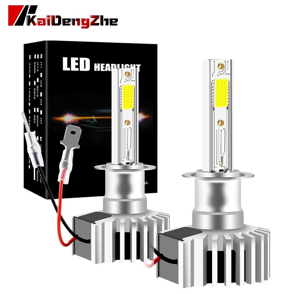 Автомобильная фара h1 led canbus автомобильные фары лампы 60 Вт 6500 лм автомобильные аксессуары K ходовые огни светодиодные лампы для авто|Передние LED-фары для авто|   | АлиЭкспресс
