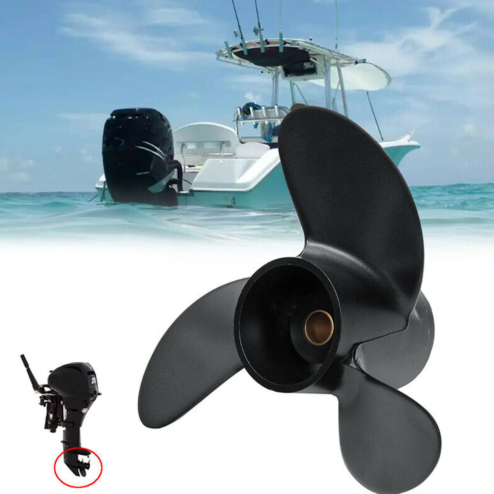Aluminum Boat Propeller Outboard 7.8x8 High Quality For Tohatsu/Mercury/Hangkai/Hyfong Outboard Motor 5 6HP Accessories Parts