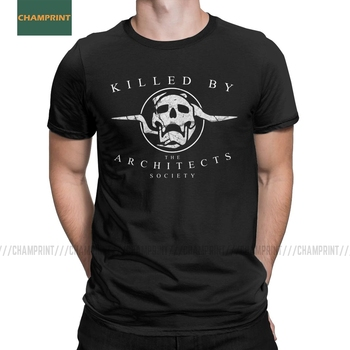 Killed By The Architects Society Destiny T-Shirt Men Cotton T Shirt Ace Spades Cayde 6 Game Short Sleeve Tee Gift Idea Top - discount item  40% OFF Tops & Tees