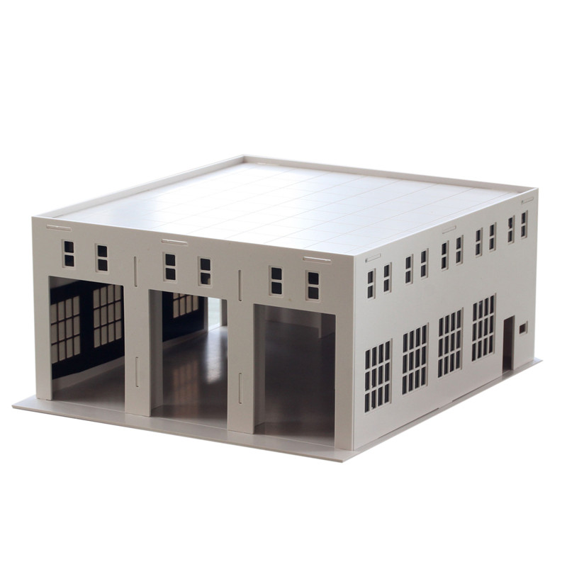 Architecture1/50 1/64 1/72 1/87 1/100 1/150 N Ho Scale Model Building Factory warehouse For Train Layout