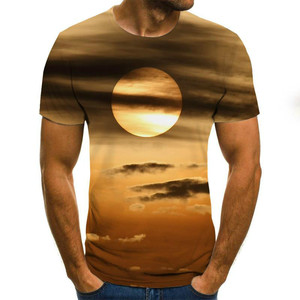 Männer und frauen Casual Kurzarm T-shirt, 3D druck casual T-shirt, sommer stil, harajuku jungen T-shirt. Asiatische größe T-sh