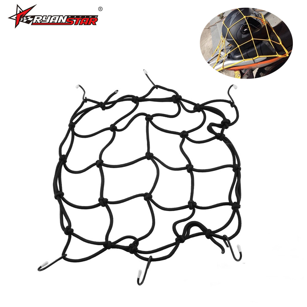 Manufacturers Direct Selling Motorcycle Luggage Net Helmet String Bag Tank Mesh Enclosure Debris Mesh Enclosure Elastic Net Rope