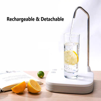 Rechargeable Electric Automatic Water Dispenser Pump Water Drinking Machine Bottled Cold Pure Water Suction Pressure 2 pump|water dispenser pump|water dispenserautomatic water dispenser -