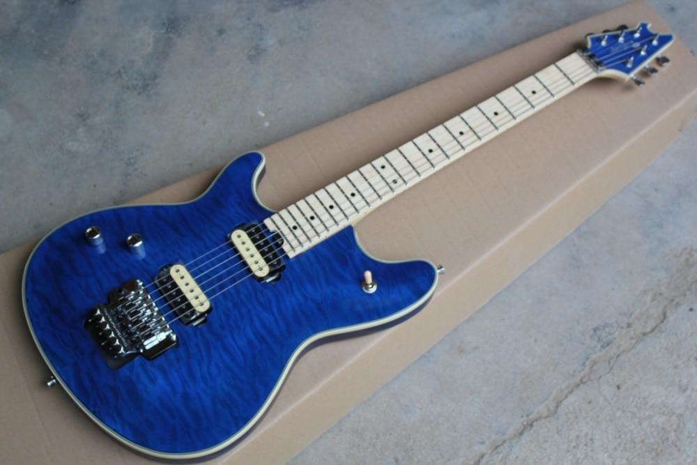 2019 New Factory Blue Finish Left Handed Evh Wolfgang Electric Guitar Eddie Van Halen Lefty Wolfgang Guitar Free Shipping Guitar Aliexpress