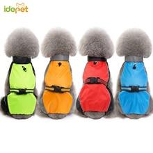 Raincoat Puppy-Vest Pet-Jumpsuit Cool-Safety-Rainwear Pet-Dog Waterproof Large Outdoor