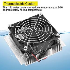 Image 2 - 50W DIY Thermoelectric Cooler קירור מערכת קירור מוליכים למחצה מערכת ערכת צלעות קירור למעבד עבור 15L מים