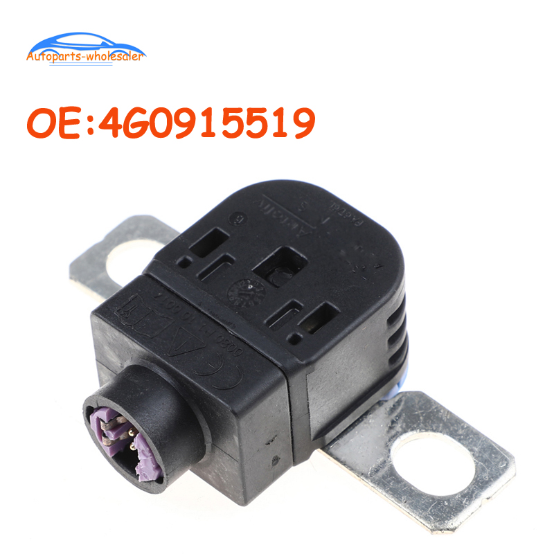 Car 4G0915519 For Volkswagen Audi A6 A8 Q3 Q5 Q7 S6 Battery Disconnect Fuse Box Overload Protection Pyrofuse Pyroswitch PSS-2