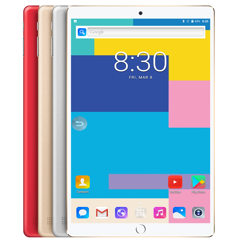Free Shipping Android 8.0 OS 10 Inch Tablet Pc 10 Core 6GB RAM 128GB ROM 10 Cores 1280*800 IPS Kids Gift MID Tablets 10.1