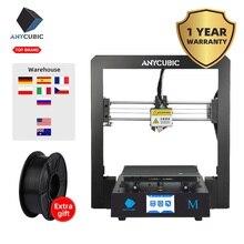 Anycubic i3 Мега 3d принтер наборы для 3d печати части дешевого размера плюс полностью металлический сенсорный экран drukarka 3d принтер 3D Drucker