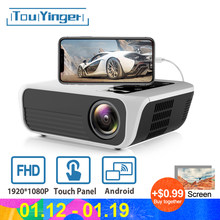 Touyinger L7 LED Native 1080P מקרן HD מלא מיני מותגים USB מקרן 4500 Lumens אנדרואיד 7.1 wifi Bluetooth בית קולנוע HDMI(China)