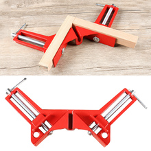 1PC Rugged 90 Degree Right Angle Clamp DIY Corner Clamps Quick Fixed Fishtank Glass Wood Picture Frame Woodwork Right Angle Tool