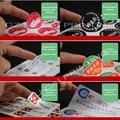 Дизайн логотипа на заказ, наклейка, печать, крафт-бумага, ПВХ, винил, прозрачный, самоклеящийся материал - фото
