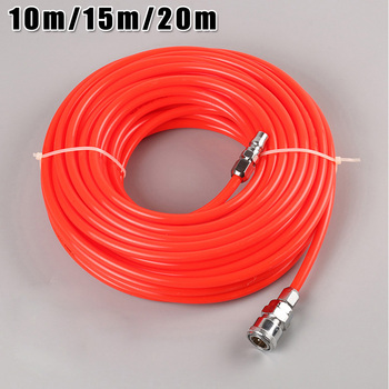 2 Colors 10/15/20m 5*8mm High Pressure Flexible Polyurethane Tubing Pneumatic PU Pipe Air Tube Compressor Hose With Connectors 10m h2o water range 20m pu air tube cable ip68 protection 4 20ma submersible pressure sensor 12 30v supply 0 5% accuracy