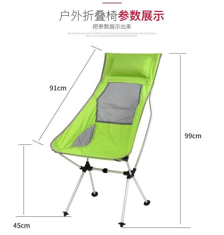 ultraleve ao ar livre portatil dobravel cadeiras 03