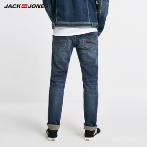 Image 3 - JackJones Winter Mens Cotton Warm Comfortable Jeans Menswear 218432514