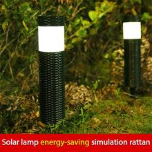 1PC Ground Lamp Lawn Lights Solar Garden Lights Outdoor Landscape Villas Plug-in Household Yard Lighting Waterproof Lawn Lights cheap oobest CN(Origin) NONE IP65 1 2V Fluorescent Modern 0 3W polysilicon about 8 hours 1 2V 600mah Ni-MH battery ABS+PVC 241g
