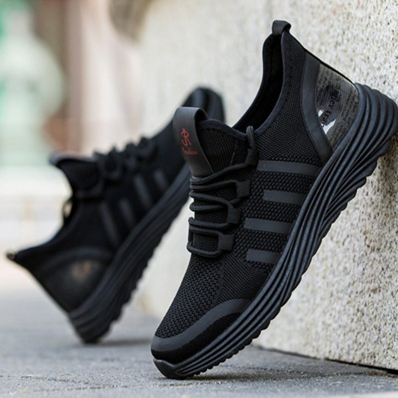 Casual Shoes Male Breathable Comfortable Fashion Men Sports Shoes Lace Up Wear-resistant Men Sneakers Gym Zapatillas Deportiva