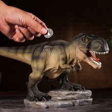 Hucha creativa de dibujos animados para niños, hucha con dibujos de dinosaurios, regalo, decoración del hogar