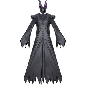 Image 4 - high quality Maleficent costume PU Movie Maleficent cosplay Costumes Adlut sexy halloween Costumes for Women Party fancy dress