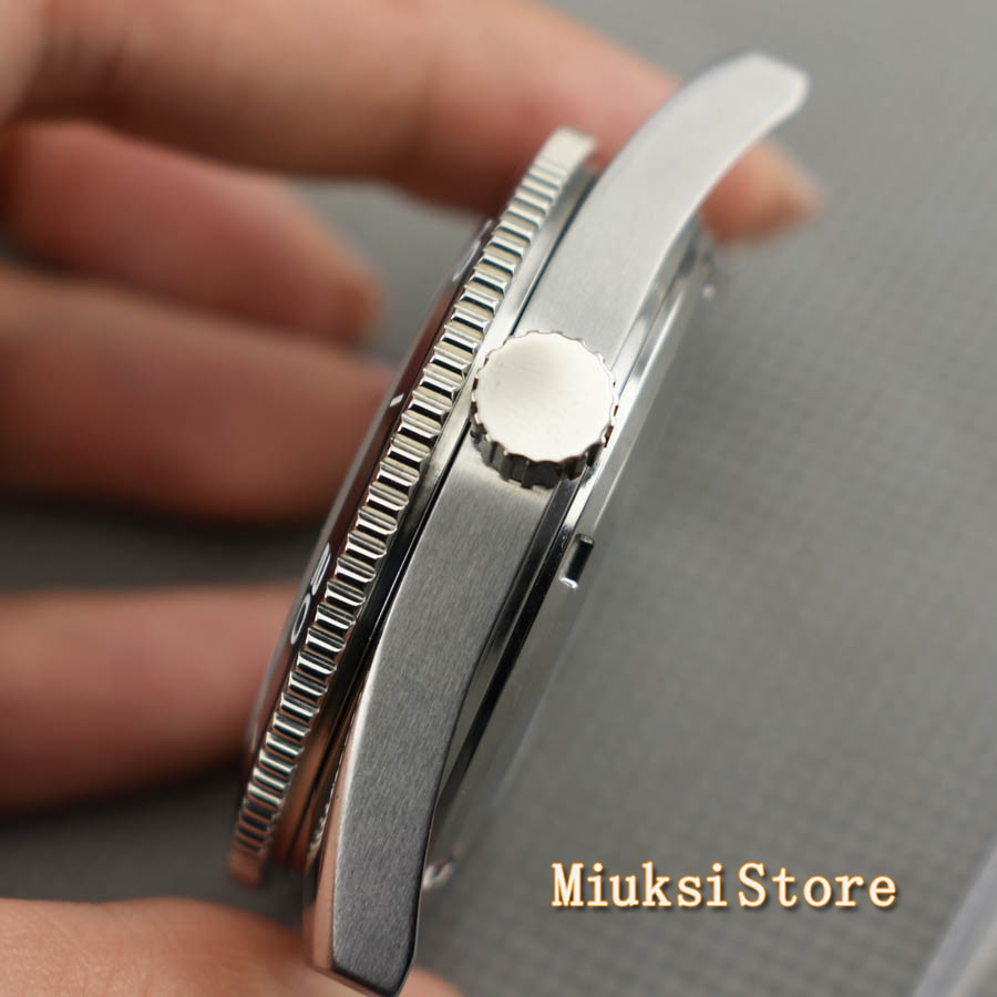 Image 4 - Corgeut 41mm top watch case sapphire glass ceramic bezel  fit  Miyota 8205/8215 82 Series ETA 2836 DG2813Watch Cases