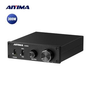 Image 1 - AIYIMA Amplificador de Subwoofer TPA3255, 300W, amplificador de potencia Digital HIFI Mono, Clase D, sonido para el hogar, Versterker NE5532 OP AMP