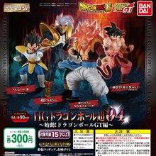 Tronzo 4 шт./компл. Оригинальная фигурка Bandai Dragon Ball Gashapon HG 04 Goku Vegeta Gogeta Baby, ПВХ экшн фигурка, модель, кукла, игрушка