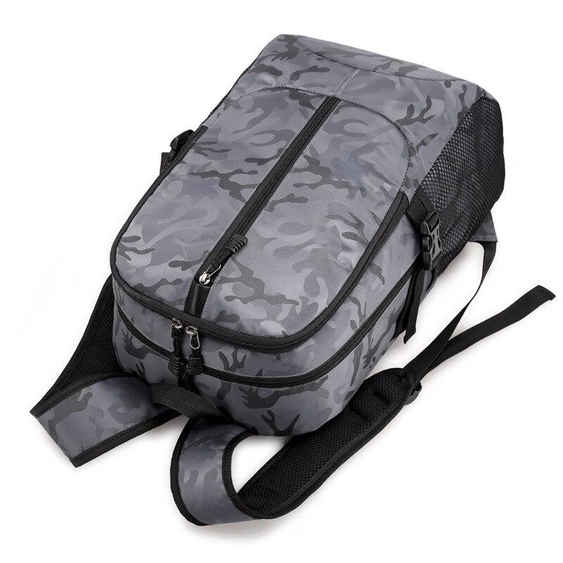 Sac à dos pour ordinateur portable externe USB Charge ordinateur sacs à dos sacs imperméables pour hommes d'affaires voyage sac à dos garçons sacs d'école - 5