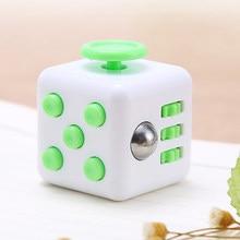 Zk20 tradicional cubo antistress brinquedo giroscópio adulto cubo brinquedo de vinil mesa dedo brinquedos espremer diversão stress reliever antistress brinquedo