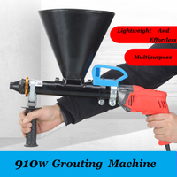 Anjieshun multifunctional electric anti theft door cement mortar grouting machine caulking gun electric caulking cement grouting
