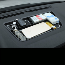 Lsrtw2017 Abs Car Dashboard Storage Box for Skoda Karoq Interior Mouldings Accessories