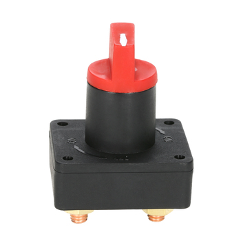 Car Truck Boat Camper 100A Battery Isolator Disconnect Cut Off Kill Switch for kinds of electrical devices on/off key image