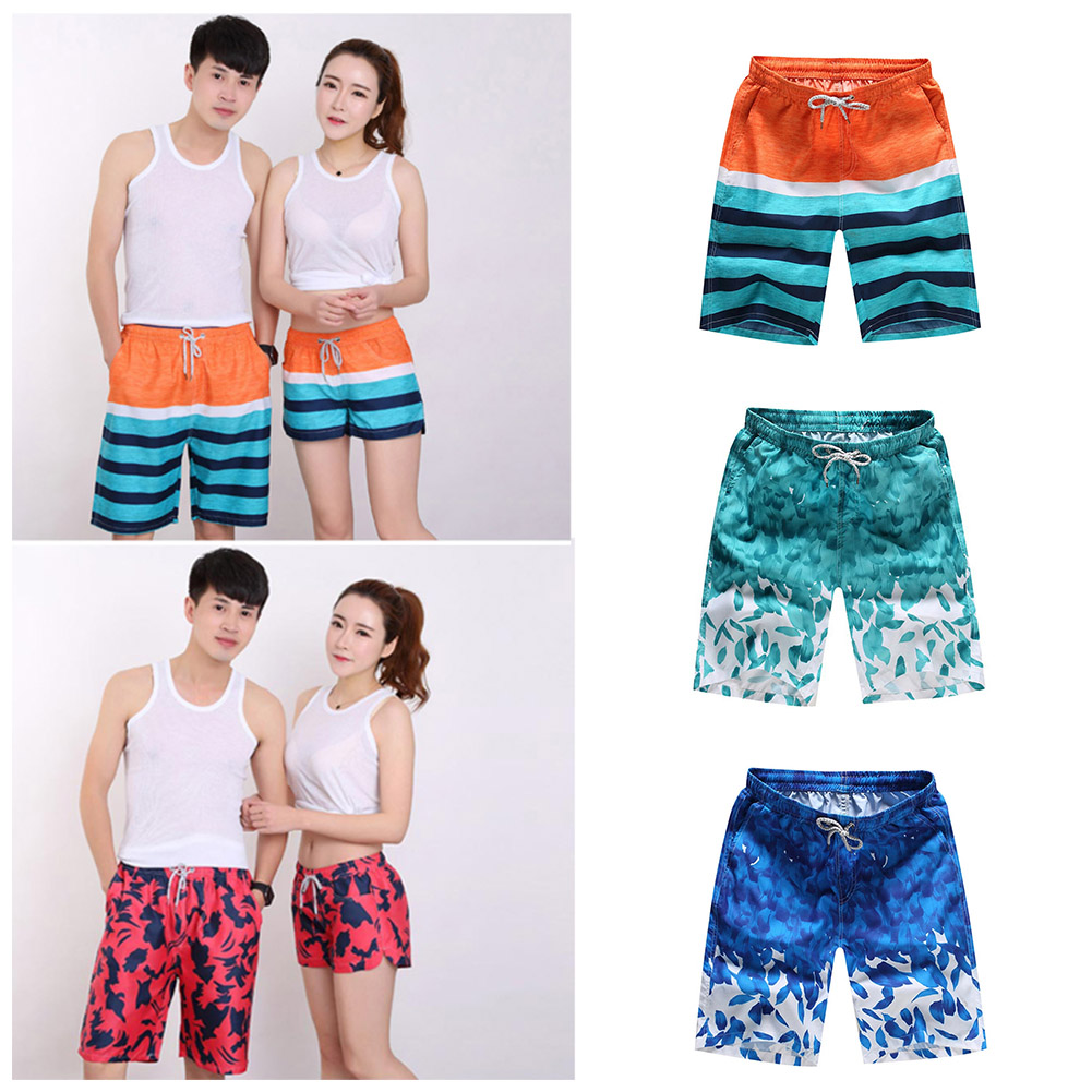 Stylish And Handsome Style Polyester Summer Sport Beach Bermuda Short Pants Quick Dry Boardshorts Mens Shorts Surf Board Shorts